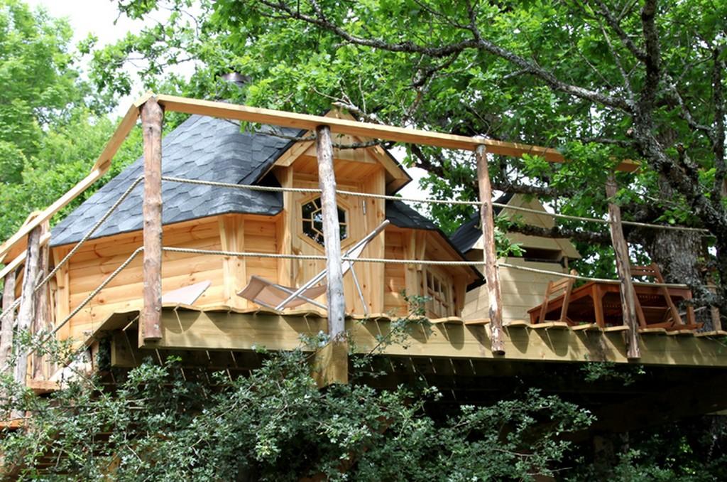 wild goose tree house
